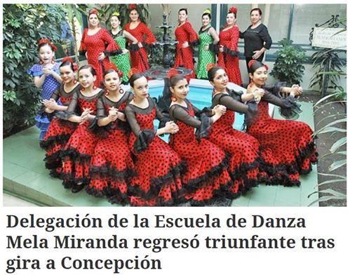 Escuela de Danza Mela Miranda regresó triunfante tras gira a Concepción